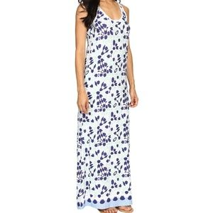 Tommy Bahama tile maxi dress Large